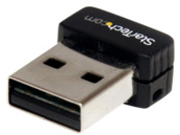 StarTech.com USB 150Mbps Mini Wireless N Network Adapter - 802.11n/g 1T1R (USB150WN1X1) - network adapter