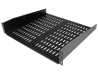 "StarTech.com 2U Server Rack Shelf - Universal Vented Cantilever Tray for 19"" Network Equipment Rack & Cabinet - Heavy D…"