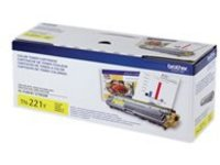 Brother TN-221Y - yellow - original - toner cartridge