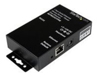 StarTech.com 1 Port RS232 Serial Ethernet Device Server - PoE Power Over Ethernet - Serial over IP Device Server Adapte…