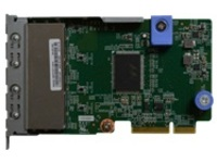 Lenovo ThinkSystem - network adapter - LAN-on-motherboard (LOM) - Gigabit Ethernet x 4
