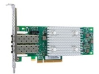 Lenovo ThinkSystem QLogic QLE2742 - host bus adapter - PCIe 3.0 x8 - 32Gb Fibre Channel SFP+ x 2