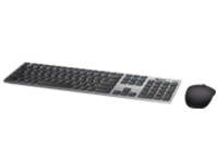 Dell Premier Wireless Keyboard and Mouse KM717 - keyboard and mouse set - gray
