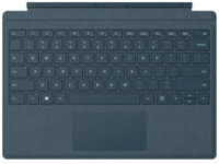 Microsoft Surface Pro Signature Type Cover - keyboard - with trackpad, accelerometer - QWERTY - US - cobalt blue
