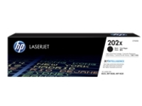 HP 202X - High Yield - black - original - LaserJet - toner cartridge (CF500X)