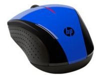 HP X3000 - mouse - 2.4 GHz - cobalt blue