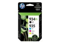 HP 934XL/935 - 4-pack - black, yellow, cyan, magenta - original - ink cartridge