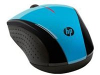 HP X3000 - mouse - 2.4 GHz - blue