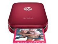 HP Sprocket Photo - printer - colour - zink - with HP ZINK Sticky-Backed Photo Paper (10-sheets)