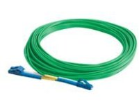 C2G 3m LC-LC 9/125 Duplex Single Mode OS2 Fiber Cable - Green - 10ft - patch cable - 3 m - green