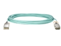 HPE 100Gb Active Optical Cables - Ethernet 100GBase-AOC cable - 15 m