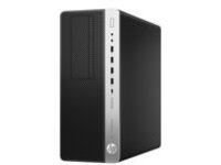 HP EliteDesk 800 G3 - tower - Core i5 7500 3.4 GHz - 8 GB - 256 GB - UK layout