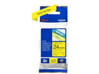 Brother TZe-651 - laminated tape - 1 roll(s) - Roll (2.4 cm x 8 m)