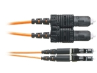 Panduit Opti-Core Fiber Optic Patch Cord - patch cable - 36 m - orange