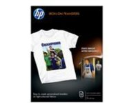 HP - iron-on transfers - 10 pcs. - A4