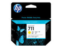 HP 711 - 3-pack - yellow - original - DesignJet - ink cartridge