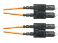 Panduit Opti-Core patch cable - 20 m - orange