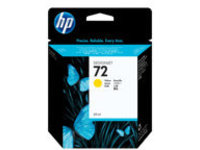 HP 72 - dye-based yellow - original - DesignJet - ink cartridge