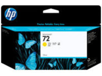 HP 72 - yellow - original - DesignJet - ink cartridge