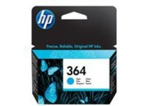 HP 364 - cyan - original - ink cartridge