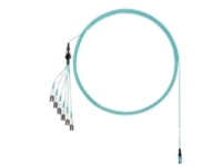 Panduit PanMPO Harness Cable Assemblies - network cable - 13 m - aqua