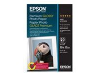 Epson Premium - photo paper - 20 sheet(s) - 100 x 150 mm - 255 g/m²