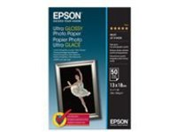 Epson Ultra Glossy Photo Paper - photo paper - 50 sheet(s) - 130 x 180 mm