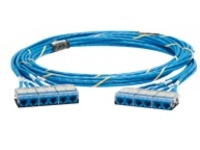 Panduit QuickNet Cable Assembly - network cable - 11 m - blue