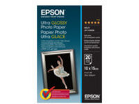 Epson Ultra Glossy Photo Paper - photo paper - 20 sheet(s) - 100 x 150 mm