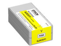 Epson GJIC5(Y) - yellow - original - ink cartridge