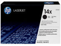 HP 14X - High Yield - black - original - LaserJet - toner cartridge (CF214X)