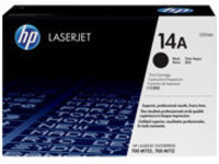 HP 14A - black - original - LaserJet - toner cartridge (CF214A)