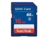 SanDisk - flash memory card - 16 GB - SDHC