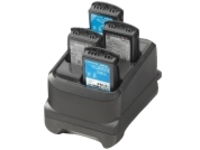 Zebra 4-slot battery charger - battery charger