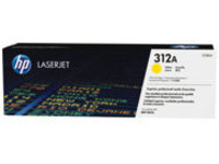 HP 312A - yellow - original - LaserJet - toner cartridge (CF382A)