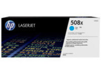 HP 508X - High Yield - cyan - original - LaserJet - toner cartridge (CF361X)