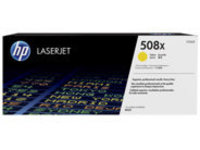 HP 508X - High Yield - yellow - original - LaserJet - toner cartridge (CF362X)