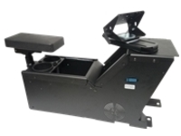 Gamber-Johnson Ford PI Utility (2012+) console box with cup holder, armrest and TS5 motion attachment kit - mounting ki…