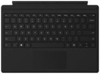 Microsoft Surface Pro Type Cover with Fingerprint ID - keyboard - with trackpad, accelerometer - QWERTY - US - black
