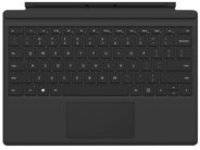 Microsoft Surface Pro Type Cover (M1725) - keyboard - with trackpad, accelerometer - AZERTY - French - black