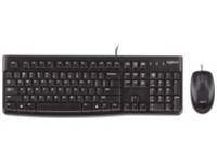 Logitech Desktop MK120 - Keyboard and mouse set - USB - English