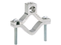 Panduit Structured Ground Mechanical Connectors Aluminum Grounding Clamp for Water Pipes - grounding clamp kit
