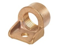 Panduit Structured Ground Mechanical Connectors Bronze Ground Hubs - grounding clamp kit