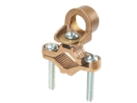 Panduit Structured Ground Mechanical Connectors Bronze Ground Clamp for Conduit - grounding clamp kit