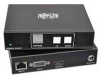 Tripp Lite HDMI/DVI Over IP Transmitter & Receiver Extender Kit Audio/Video with RS-232 Serial and IR Control 1920 x 10…