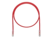 Panduit TX6A-SD 10Gig patch cable - 14 m - red