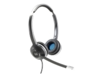 Headset 532 Wired Dual W-Quick Disconnect Coiled Rj Headset