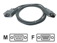 APC serial cable - DB-9 to DB-9 - 1.8 m