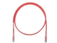 Panduit NetKey patch cable - 1.5 m - red