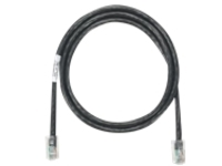 Panduit NetKey patch cable - 2.1 m - black